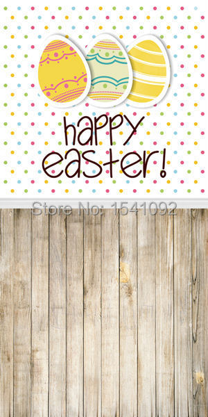 1.5X3M Customize vinyl photography backdrop newborn easter wood computer print  background for photo studio F039<br><br>Aliexpress