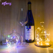 2M 20LEDs Mini LED Holiday String Lights Micro Waterproof Lamp Indoor Wedding Light for Home Decoration Christmas Glass Craft(China)