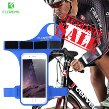 Buy FLOVEME Running Armband iPhone 8 7 6 6s Running Cycling Armband iPhone 8 Plus 7 6 6s Plus Arm Band Sport Gym Phone Bag for $4.99 in AliExpress store