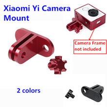 Aluminum Alloy Mount for Xiaomi Xiaoyi Camera Mount Adapter for Xiaomi Yi Sport Action Camera Accessories Travel Edition