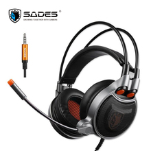 NEW ARRIVAL SADES SA929 7.1 Virtual Stereo Surround Gaming Headset Headband Headphone with Mic for PC PS4 Xbox One Tablet Phone