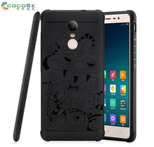 COCOSE 3D Carved Dragon Soft TPU Silicone Shockproof Armor Case Cover for Xiaomi Redmi Note 3 Pro Chinese version Phone shell(China)