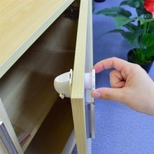 4pcs Magnetic Child Lock Baby Safety Cabinet Lock Children Protection Kids Drawer Locker Baby Security Cupboard Childproof Locks
