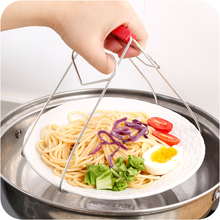 Pot Clips Stainless Steel Anti-Hot Heat Resistant Take Bowl Clips Set Kitchen Accessories
