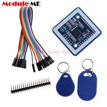 Mini PN532 NFC RFID Wireless Module V3 User Kits Reader Writer Mode IC 13.56MHz SPI IIC I2C S50 Key Card PCB Attenna Arduino