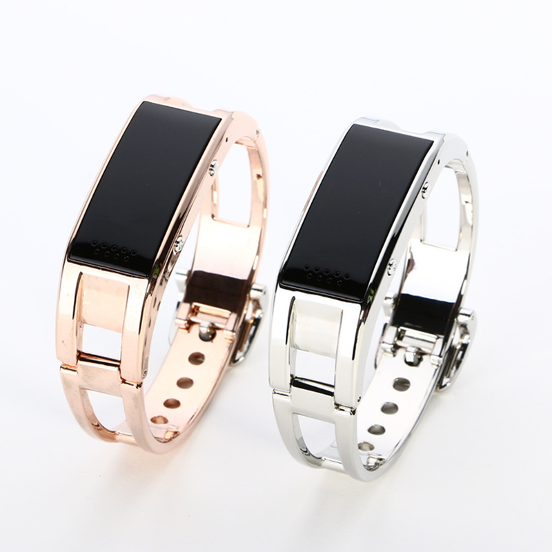 Bluetooth watch D8 Full steel Smart Bracelet Sync phone LED Digital Watch with Vibrate can answer phone for Smart watch<br>