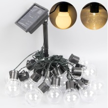 outdoor 20 led Solar Lamps LED globe ball fairy string light solar light fairy led garland garden party decoration Waterproof