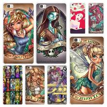 Tattooed Princess Ariel The Little Mermaid White Coque Shell Case Cover Phone Cases for Huawei P7 P8 P9 P10 Lite Mate s 7 8 9(China)