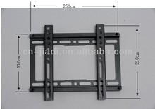 "Universal TV Wall Mount Bracket for 17""-37""/order 40pcs per carton shipped by UPS in 3-7 days(China)"