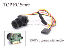 Mini Digital Video Camera FPV-1000TVL 1000TVL Line with Audio NTSC / PAL Pattern 2.8mm COMS for RC FPV Aerial Photography