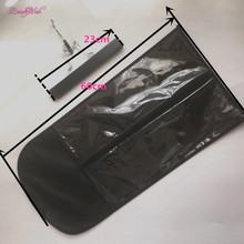 Stock Black Hair Extension Stand - Suit Case Bag and Hanger 1PcWig Stands Hair Extensions Hanger, Hair Extensions Bag(China)