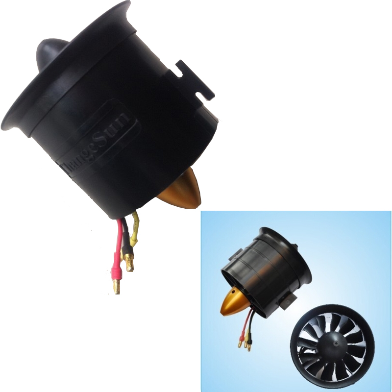 1set Change Sun 70mm Ducted Fan 12 Blades with EDF 2839 motor kv2600 all set<br><br>Aliexpress