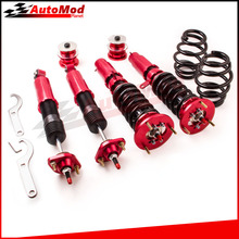 24 Ways Damper Adj Coilovers For BMW E46 3 Series M3 330i 325i 325xi 320i 328Ci Lowering Kit Coilover Absorber Struts 98-06
