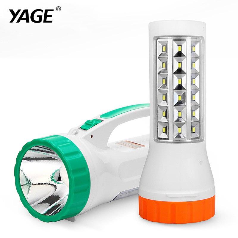 YAGE 5715 portable light led spotlights camping lantern searchlight portable spotlight handheld spotlight desk lamp light 2-mode<br><br>Aliexpress