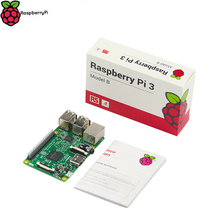 Original Raspberry Pi 3 Model B UK Version 1GB RAM 1.2GHz Quad-Core ARM Cortex-A53 64 Bit CPU Bluetooth 4.0 Faster than RPI 2