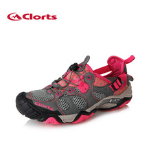 2016 Clorts Water Shoes for Women Upstream Outdoor Sneakers Women Beach Aqua Sandals 3H021C(China)