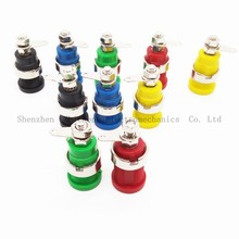 10PCS Binding Post Speaker Terminal Panel Connector for 4mm Banana plug