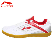 LI-NING Men Table Tennis Shoes Anti-Slip Indoor Training Shoes Li Ning Hard-Wearing Sport Shoes Male Breathable Sneakers APTH001