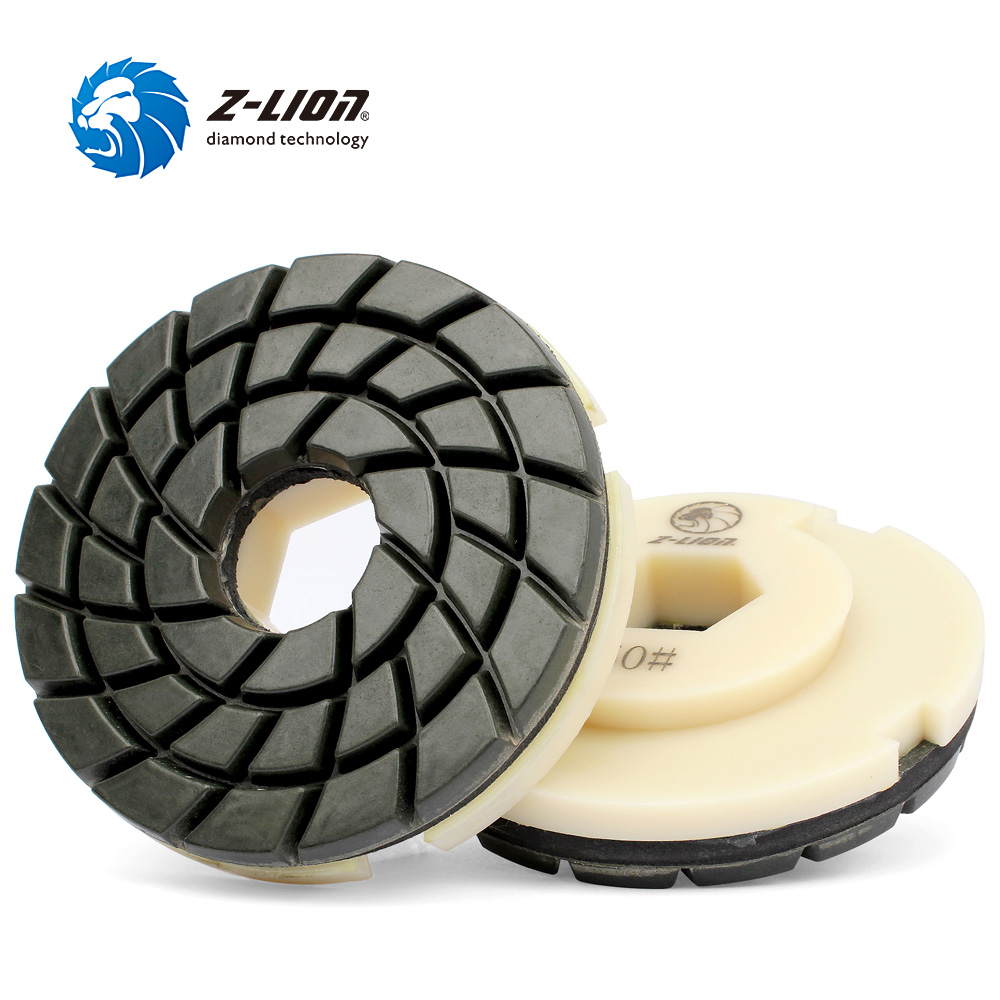 5/'/' Diamond Edge Polishing Pad Snail Lock Backer Polishing Wheel Marble Granite