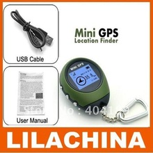 Wholesale Promoting 1.5 inch Multifunctional Handheld Mini GPS Tracker for Camping/Hiking/Climbing