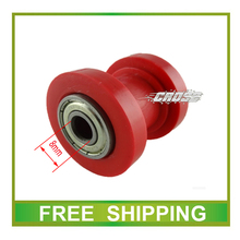 chain roller wheel guide 8mm 50cc 110cc 125cc 250cc dirt bike pit bike atv quad motorcycle acccessories free shipping