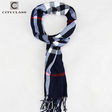 CityClass 2017 Winter Design Men Shawls Scarves polyester Fall Fashion Designer Wrap Men Business Scarf Echarpe With Tassels 121