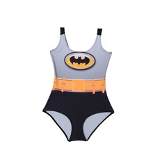 Women Custom Tankinis BATMAN Bodysuit SWIMSUIT Digital Printing Swimwear Hot Black Sexy Wetsuit Drop Ship Sst-1046