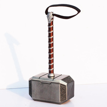 1Pcs The Thor's Hammer Toys Thor Custome Thor Cosplay Hammer Great Gift 20cm Approx(China)