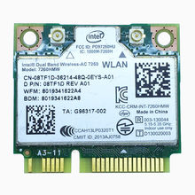AC7260 Dual Band Wireless-ac 7260 7260HMW +Bluetooth 4.0 867 Mbps IEEE 802.11ac PCIe Half Mini Wifi Card for DELL intel 7260AC(China)