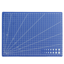 A4 Grid Lines Self Healing Cutting Mat Durable Blue DIY Patchwork Craft Card Fabric Leather Paper Board for Model Making Mayitr