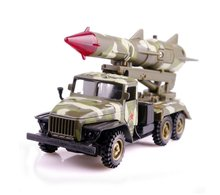 Brand ETI pull back military camouflage missile car warrior model alloy car with light and sound CT11-212 free shipping in box(China)