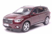 * Red 1/18 Infiniti QX60 2014 Diecast Model Cars Hot Selling Alloy Scale Models Limited Edition