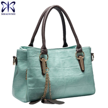 Hot 2017 New Arrive Female Crossbody Bag Leather Handbags Tote Women Messenger Bags Ladies Fashion Leather Portable Shoulder Bag