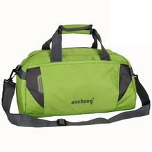 0 HOT Nylon Material Portable Bags Big Gym Bag For Women and Men 23*40*22cm 7 colors New Style travel bag shoulder bag
