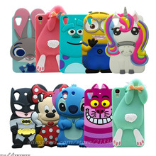 For HTC 530 Phone Case For HTC Desire 530 / Desire 630 3D cartoon Color Unicorn Pattern soft Silicone Back Cover For HTC 630 530