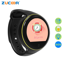 ZUCOOR Children's Smart Watch Children GPS Tracker Watches RW63 SOS Call Relogio Smartwatch For Baby Monitor Anti-lost Girl Kid(China)