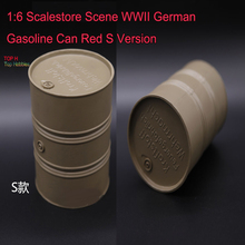 1:6 Scale store Scene WWII German Gasoline Can 1/6 Red S Version Model Fit 12 Inch Figure Use