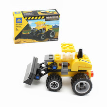 KAZI 8060 Bulldozer Building Blocks set DIY City Construction Engineering Assemble Educational Model Bricks Toys For kids Gifts