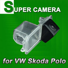 For Sony CCD VW Skoda Seat Leon Leon4 Polo Superb Passat Jetta Altea CAR Back Up Parking Reverse car CAMERA(China)