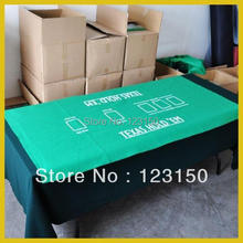 ZB-049 Non-woven fabric Texas Holdem Table Cloth for Casino Games(China)