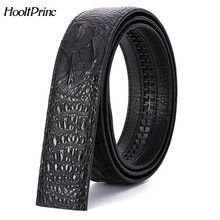 Buy High luxury buckle belt mens fashion Crocodile Grain designer genuine leather Waist Strap Automatic buckle Upscale for $9.39 in AliExpress store