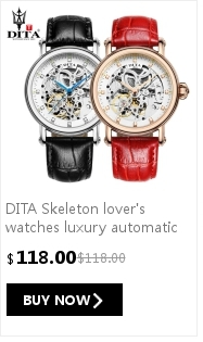 DITA  Lady analog leather strap Wristwatches women  Quartz  Casual Classic watch girl starry sky face colorful belt