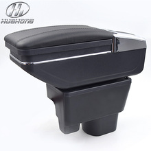 Update 8th For Geely MK armrest box central Store content box with cup holder ashtray car styling products accessories 09-13