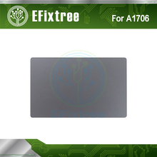 Grey New Original A1706 Trackpad Track Pad Touchpad For Macbook Pro Retina 13 13.3 inch A1706 Gray 2016 Year(China)