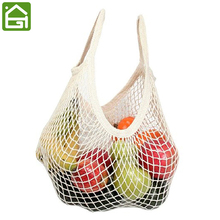 Reusable Grocery Produce Bags Cotton Mesh Ecology Market String Net Shopping Tote Bag Kitchen Fruits Vegetables Hanging Bag(China)