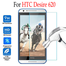 For HTC Desire 620 820mini Tempered Glass Screen Protector Cover For htc desire 620G D620H D820MU D620u Protective Film Case(China)