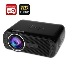 BL80 Full HD TV Home Cinema Portable Projector HDMI LCD LED Game PC Video Digital Mini Projectors 1080P Proyector 3D Beamer