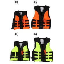 Child Life Vest Aid Jacket Whistle Swimming Life Jacket For Drifting Boating Survival Fishing Safety Jacket Water Sport Wear(China)