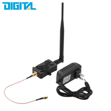 4W 4000mW 802.11b/g/n Wifi Wireless Amplifier Router 2.4Ghz WLAN ZigBee Bluetooth Signal Booster with Antenna TDD(China)