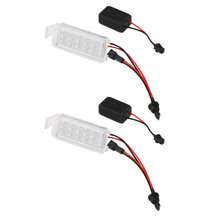 HOPSTYLING 2x LED For Ford Falcon LED License Plate light car styling auto lighting system Auto parts car styling automotive(China)